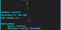 Cleaver Machine Pistol