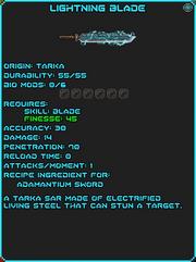 IGI Lightning Blade