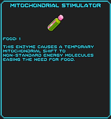 Mitochondrial Stimulator info