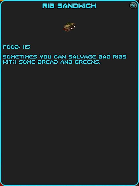 IGI Rib Sandwich