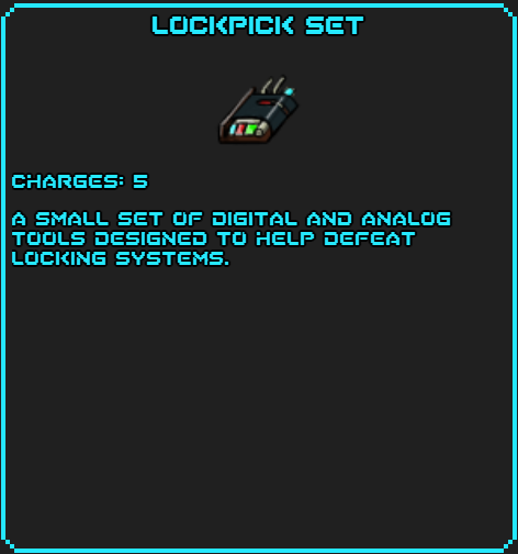 Lockpick Set info
