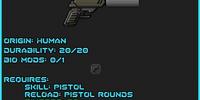 Silenced Pistol