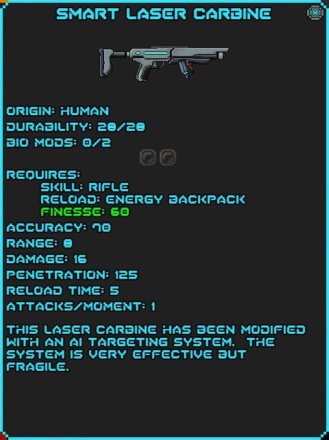 IGI Smart Laser Carbine