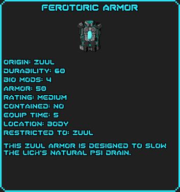 FerotoricArmor