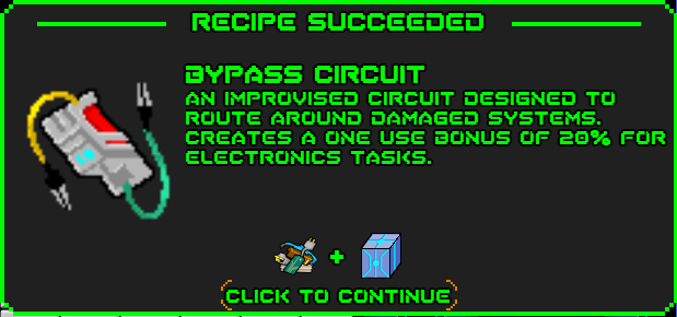 Bypass circuit-recipe