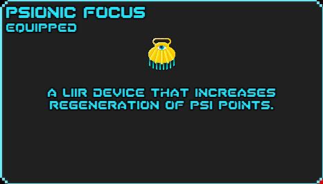 Psionic focus