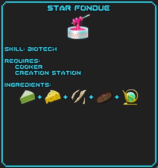Star Fondue Recipe