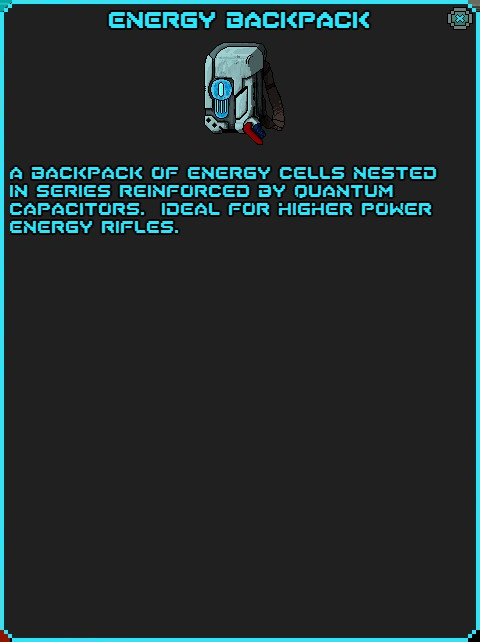 IGI Energy Backpack