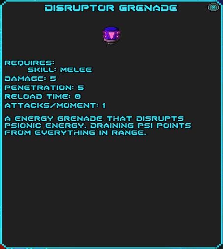 Distruptor Grenade