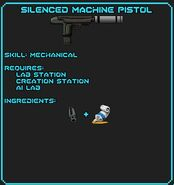 Silenced Machine Pistol Recipe