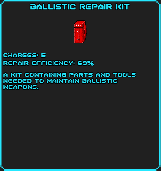Ballistic Repair Kit