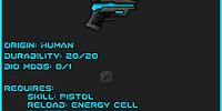 Enduro Laser Pistol