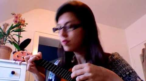 Sword and Laser podcast theme on ukulele