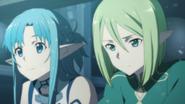 Asuna, and Yuuki Kyouko as Erika