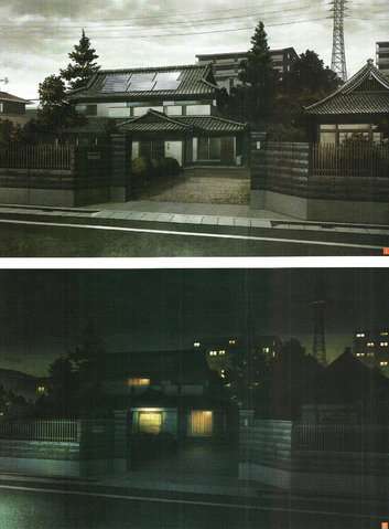 File:Design Works Kirigaya Residence at night and the day time.png