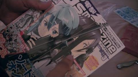 Unboxing and Debinding Dengeki G's Magazine