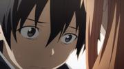 Kirito worrying about Asuna