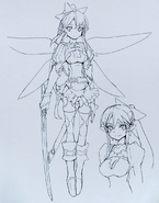 Leafa Abecs Artworks artbook