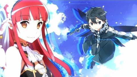 PS3 PSVita 「ソードアート・オンライン -ロスト・ソング-」 第5弾TVCM レイン篇