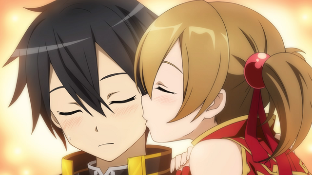 File:Silica kissing Kirito on his cheek.png