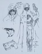Abecs Artworks art book Death Gun concept