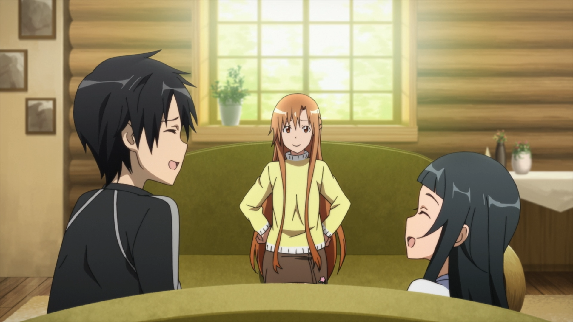 Image result for asuna and kirito fishing