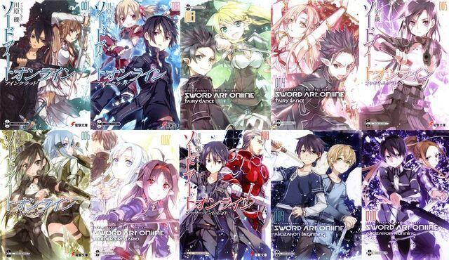 File:SAO Light Novels.jpg