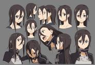 Kirito-GGO Face-Designs SAOII