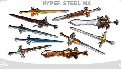 Hyper Steel MA
