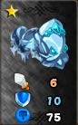 Frozen armor