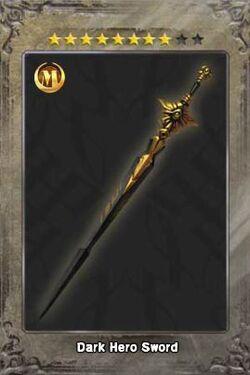 Dark Hero Sword