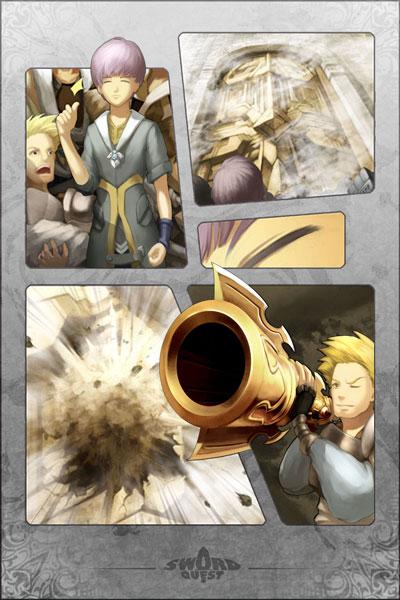 The Gold Cannon Manga