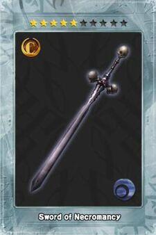 Sword of Necromancy New