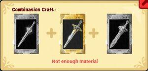 Flask of Rejuvenation Swords
