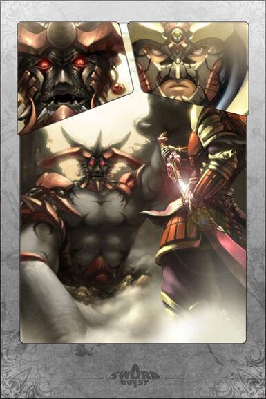 God Forbidden Blade Manga