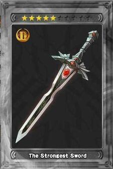 The Strongest Sword New