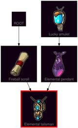 ResearchTree Elemental talisman