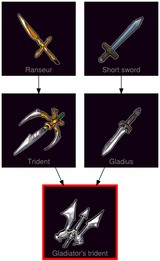ResearchTree Gladiators trident