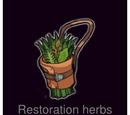 Soothing herbs