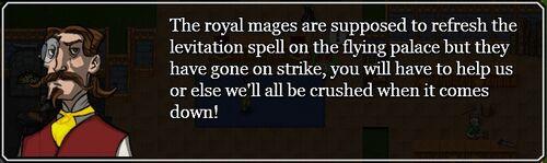 Palace levitation quest - Royal questline