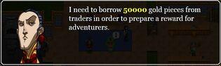 Borrow from traders invitation