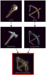 ResearchTree Bow of precision