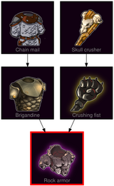 ResearchTree Rock armor