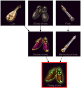 ResearchTree Flying shoes