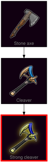 ResearchTree Strong cleaver