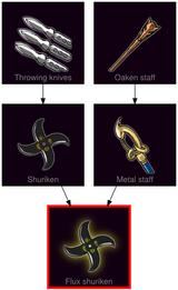 ResearchTree Flux shuriken