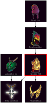 ResearchTree Clerics hat