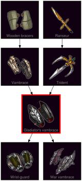 ResearchTree Gladiators vambrace