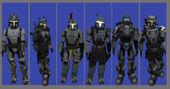 Active armorset