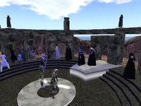 Knight ceremony